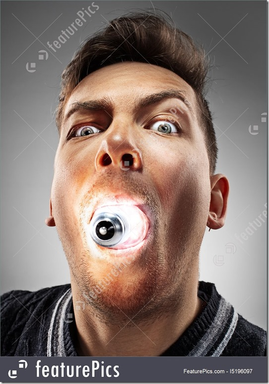 man-with-bulb-in-his-mouth-stock-photo-4196097